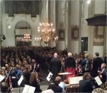 Afbeelding behorende bij Oratoriumkoor Veluwezoom | Uitvoering van grote klassieke koorwerken